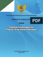 PMK No. 57 Tahun 2013 Tentang PTRM
