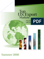 11 U.S. Department of Commerce Top U.S. Export Markets Report