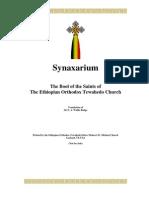The Ethiopian Synaxarium