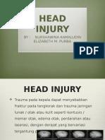Wina Ibet Cedera Kepala Trauma Med Spinal