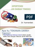 Penyuluhan Hipertensi Dr Yusmardiati(1)