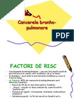 Cancerele Bronho-pulmonare