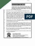 Ifb Notice (Package 4) Shaheed Benazir Bhutto Bridge