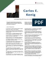 kenig - bibliografia