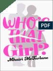 Who's That Girl? by Mhairi McFarlane - Extract