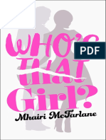 Who's That Girl? by Mhairi McFarlane - Extract