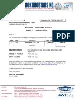 Mapalad.chlorine Test Kit