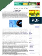 Penegasan Harian Dalam Trading Anda - Artikel Forex - By_Martin