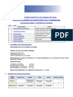 Informe Diario Onemi Magallanes 01.03.2016