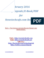 February 2016 GK Capsule by Newstechcafe