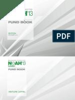 NOAH2013 FundBook