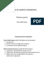1_Enseñanza de Español a Inmigrantes