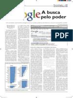 Google:- A busca pelo poder - Redação