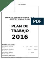 Plan anual de trabajo de la Red Educativa Ceba Ascope Gran Chimu