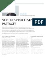Vers des processus partagés