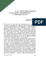 La Prensa en La Historiografia