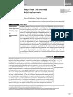 Adenoma Pleomórfico de Glândula Salivar Maior, Expressão Da p53 Em 106 Adenomas - 2009