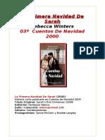 La Primera Navidad de Sarah - Rebecca Winters - Cuentos de Navidad 2000 03