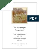 Historic Headstone Re-creation