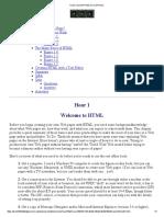 Teach Yourself HTML 1
