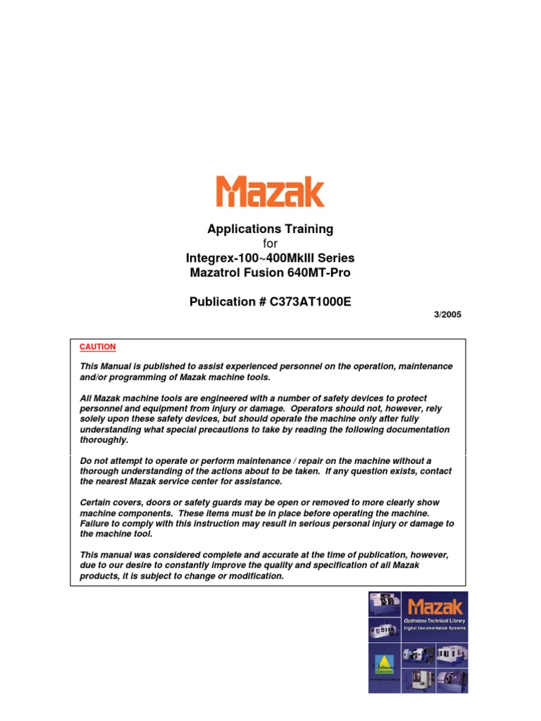 mazak m32 eia programming manual