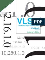 VLSM Workbook Instructors Edition - V1_0
