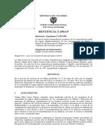 Texto de la sentencia que ordena al Gobierno crear plan de agua potable para el sur de La Guajira