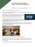 Aconsejable empresa dedicada a la decoración de dormitorios minimalistas y al diseño de habitaciones minimalistas
