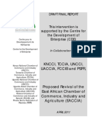 Draft Final Report of the Eaccia Revival (April, 2011)