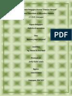 resumenCap4 Didactica de Matematicas