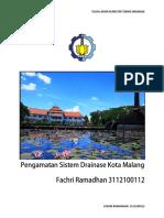 Pembahasan Drainase Kota Malang