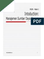 1 Introduction Msdm4