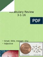 vocab review 3-1-16