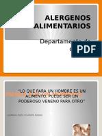 Capacitacion alergenos 2015