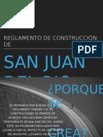 Reglamento de construcción San Juan Del Rio