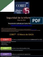 COBIT 5 y Seg Info