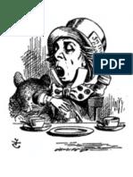 Alice in Wonderland Signage