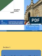Mumbai Presentation Sasakawa Award