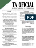 Gaceta Oficial N° 40.857 - Notilogía