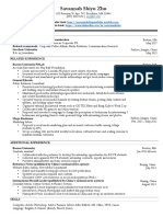 new resume