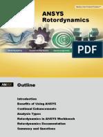 ANSYS Rotordynamics