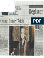 Oonagh Shanley News Clipping