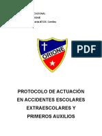 Protocolo de Accion