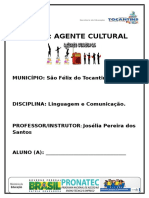 Apostila Agente Cultural