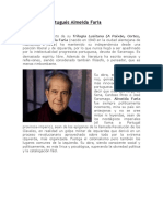 El escritor portugués AlmeidaFaria