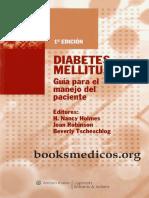 Diabetes Mellitus Guia Para El Manejo Del Paciente