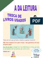 Cartaz Troca Do Livro Usado
