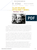 Esther Díaz - Gilles Deleuze_ Poscapitalismo y Deseo