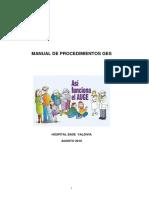 Manual de Procedimientos y Organizacion GES