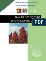 Plan de Negoicos Exportacion de Quinuna Imprimirrr